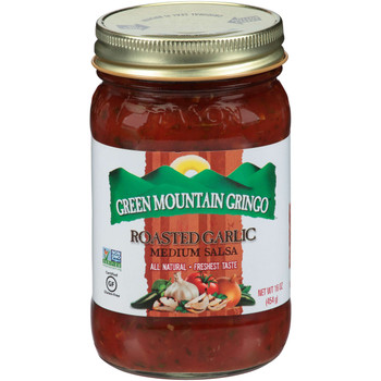 Copy of Green Mountain Gringo, Roasted Garlic Salsa, 16 oz. (12 Count)
