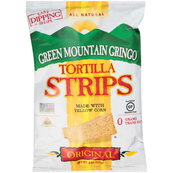 Green Mountain Gringo, Tortilla Strips, 8 oz. (12 Count)