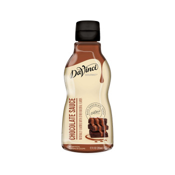 DaVinci Gourmet, Chocolate Sauce, 12 oz. (6 Count)