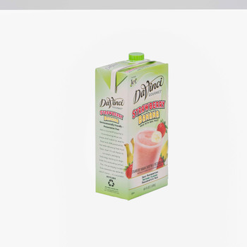 Davinci Gourmet, Strawberry Banana Smoothie Mix, 64 oz. (6 Count)