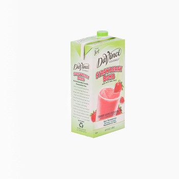Davinci Gourmet, Strawberry Bomb Smoothie Mix, 64 oz. (6 Count)