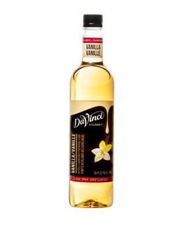 Davinci Gourmet, Vanilla Syrup, 750 ml (4 Count)