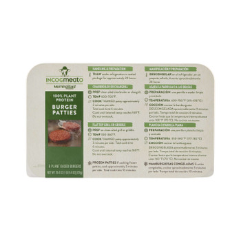 Morningstar Farms, Incogmeato Burger Patties, 25.4 oz. (6 Count)
