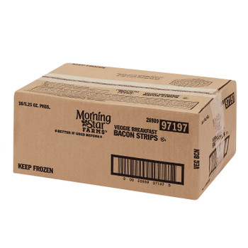 Morningstar Farms, Veggie Breakfast Bacon Strips, 5.25 oz. (18 Count)