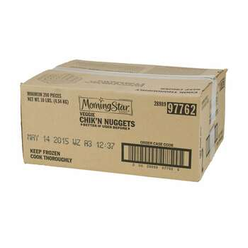 Morningstar Farms, Veggie Chik'n Nuggets, 10 lb. (1 Count)