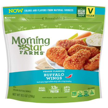 Morningstar Farms, Veggie Classic Buffalo Wings, 10.5 oz. (6 Count)