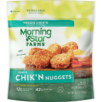 Morningstar Farms, Veggie Chik'n Nuggets, 10.5 oz. (6 Count)