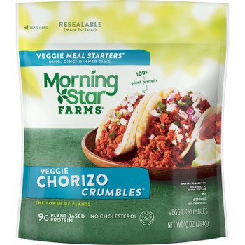 Morningstar Farms, Veggie Meal Starter Chorizo, 10 oz. (6 Count)