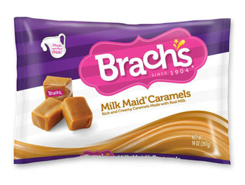 Brachs, Laydown Bag Milk Maid Caramels, 14 oz. (12 Count)