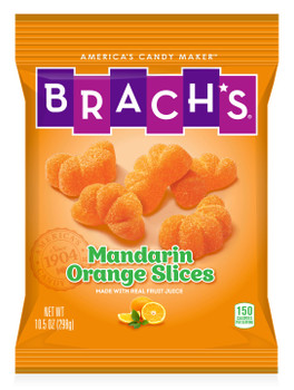 Brachs, Mandarin Slices, 10.5 oz. (12 Count)