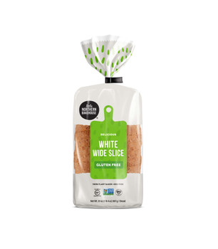 Little Northern Bakehouse, Wide Sliced Gluten Free White Bread, 20 oz. (8 Count)
