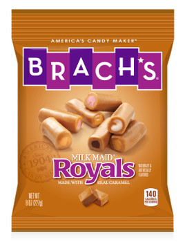 Brachs, Milkmaid Royals, 8 oz. (12 Count)