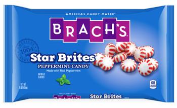 Brachs, Starbrite Peppermint, 16 oz. (12 Count)