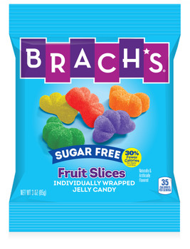 Brachs, Sugar Free Fruit Slices, 3 oz. (12 Count)