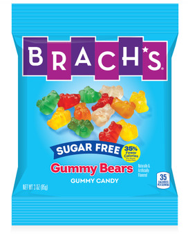Brachs, Sugar Free Gummy Bears, 3 oz. (12 Count)