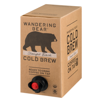 Wandering Bear, Black Cold Brew Coffee, 96 oz. (3 Count)