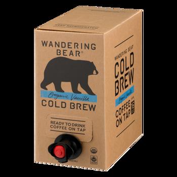 Wandering Bear, Organic Vanilla Cold Brew Bright White Coffee, 96 oz. (3 Count)