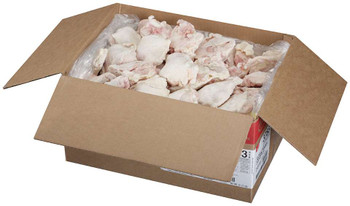 Tyson, NAE All Natural Large Grade A Chicken Thighs, 31.75 lb. (1 Count)