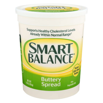 Smart Balance, 79% Vegetable Oil Spread, 5 lb. (6 Count)