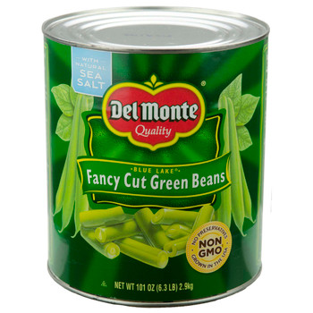 Del Monte, Fancy Cut Green Beans, 101 oz. (6 Count)