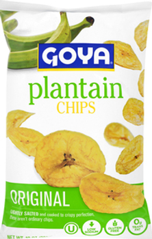Goya, Original Plantain Chips, 10 oz. (10 Count)
