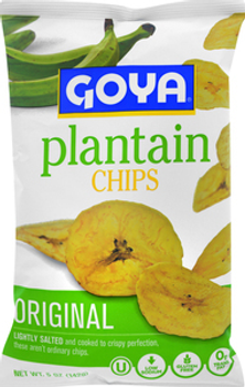 Goya, Original Plantain Chips, 5 oz. (12 Count)