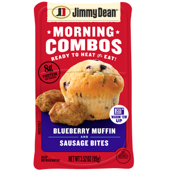 Jimmy Dean, Morning Combos, Blueberry Muffin and Sausage Bites, 3.52 oz. (8 Count)