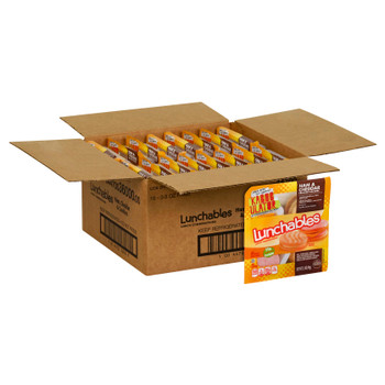 Lunchables, Ham & Cheddar Cracker Stackers with Vanilla Creme Cookies, 3.5 Oz Pack (16 Count)