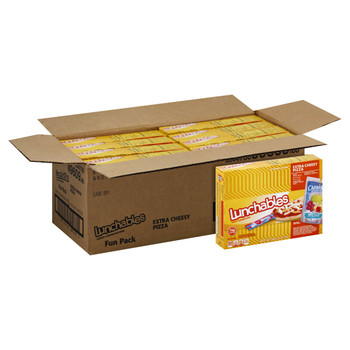 Lunchables Single Serve, Extra Cheesy Pizza with Capri Sun & Airheads, 10.6 Oz Box (8 Count)