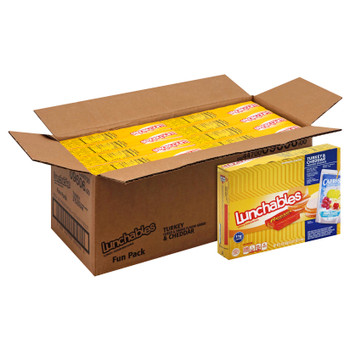 Lunchables Single Serve, Turkey & American Cracker Stackers with Capri Sun & Reese's, 8.9 Oz Box (8 Count)
