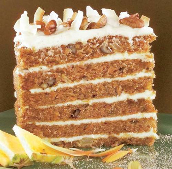 Big Iced Carrot Cake
