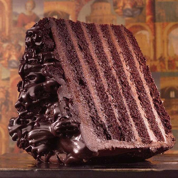 Big Iced Chocolate Cake