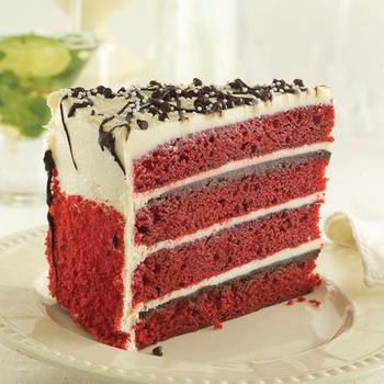 Iced Red Velvet Cake