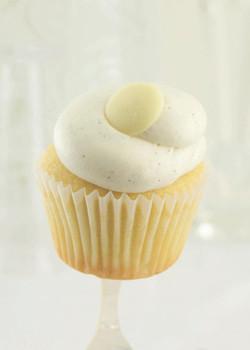 Iced Vanilla Bean Cupcakes (Case)