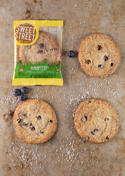 Lemon Blueberry Manifesto® Cookie Individually Wrapped (Case)
