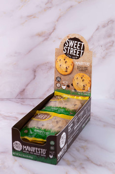 Lemon Blueberry Manifesto® Cookie Retail Ready (Case)