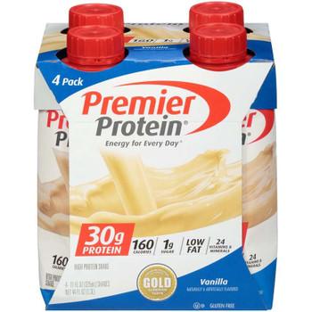 Premier Protein, Vanilla Shake, 11 oz. (12 Count)