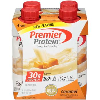 Premier Protein, Caramel Shake, 11 oz. (12 Count)