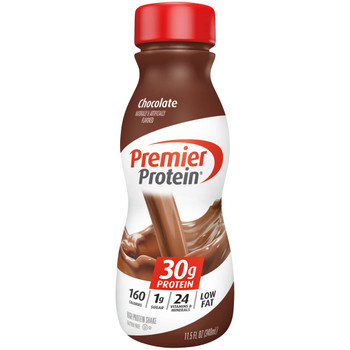 Premier Protein, Chocolate Shake, 11.5 oz. (12 Count)