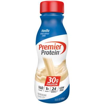 Premier Protein, Vanilla Shake, 11.5 oz. (12 Count)