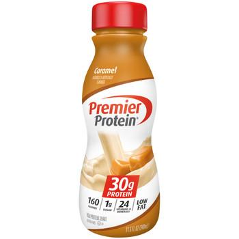 Premier Protein, Caramel Shake, 11.5 oz. (12 Count)