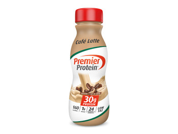 Premier Protein, Cafe Latte Shake, 11.5 oz. (12 Count)