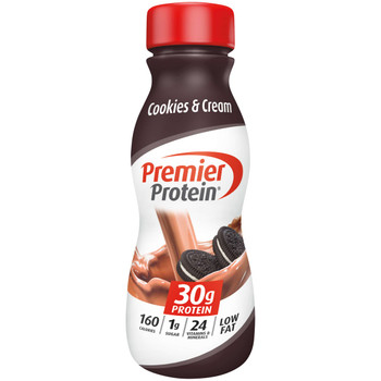 Premier Protein, Cookies & Cream Shake, 11.5 oz. (12 Count)