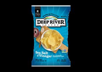 Deep River Snacks, Sea Salt & Vinegar Kettle Chips, 2 oz. (24 Count)