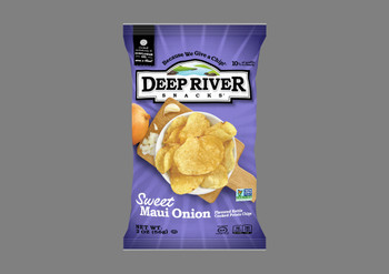 Deep River Snacks, Sweet Maui Onion Kettle Chips, 2 oz. (24 Count)