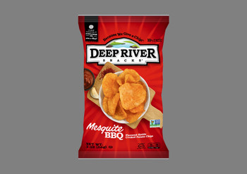 Deep River Snacks, Mesquite BBQ Kettle Chips, 2 oz. (24 Count)