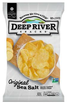 Deep River Snacks, Original Sea Salt Kettle Chips, .75 oz. (120 Count)