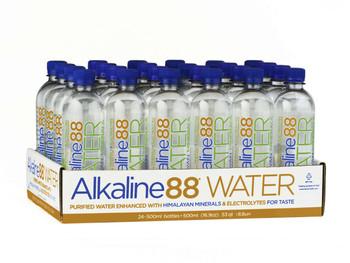 Alkaline Water, 8.8 PH, 500 ml. (24 Count)