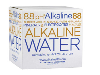 Alkaline Water, 8.8 PH, 1 gal. (4 Count)