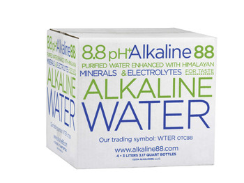 Alkaline Water, 8.8 PH, 3 L. (4 Count)